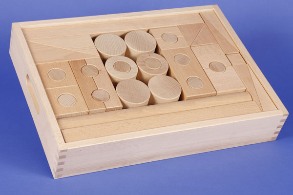 Bauklötze-Set für Kindergarten
